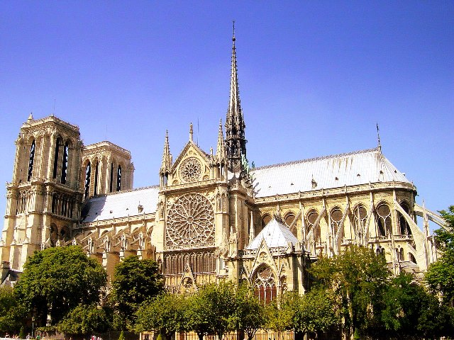 Qué ver en Paris - Catedral de Notre Dame - Vista general