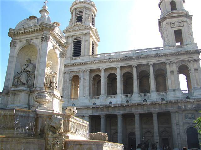Paris - Iglesia Saint Sulpice