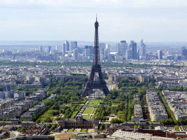 Paris - Torre Eiffel desde la Tour Montparnasse
