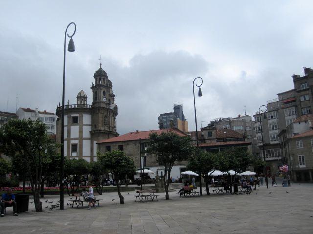 Pontevedra - Plaza Ferrería