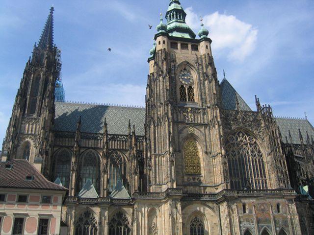 Praga - Catedral de San Vito - Campanario