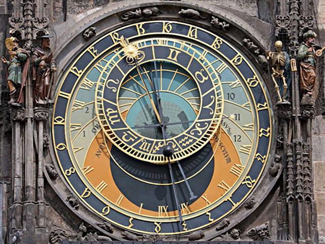 Praga - Reloj Astronómico - Esfera