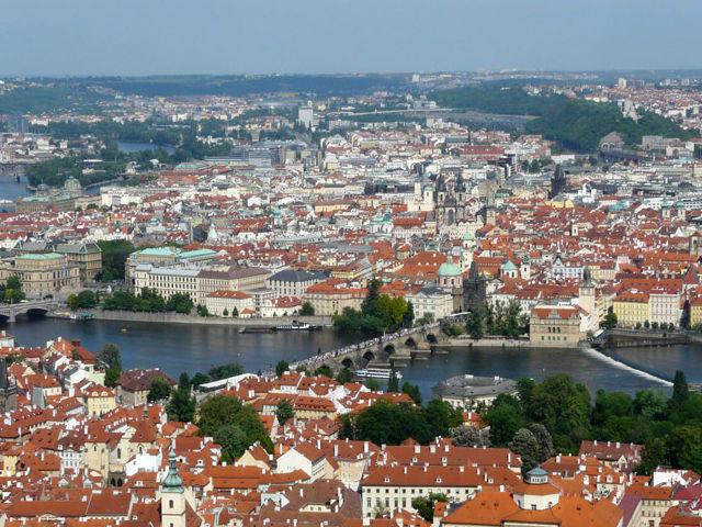 Praga - Vistas desde el Monte Petrin