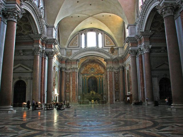 Que hacer en Roma - Basilica Santa Maria de los Angeles