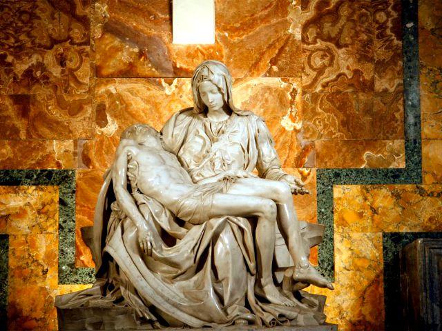 Roma - Basilica de San Pedro - Piedad