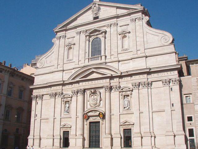 Roma - Iglesia del Gesu