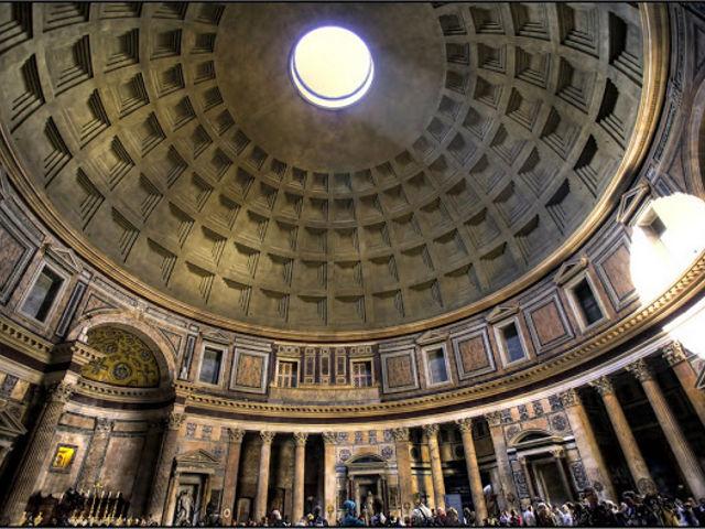 Roma - Panteon Agripa - Cupula