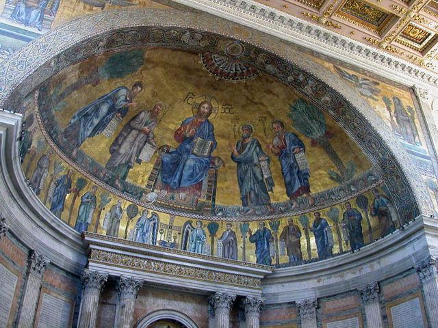 Roma - San Pablo Extramuros - Abside