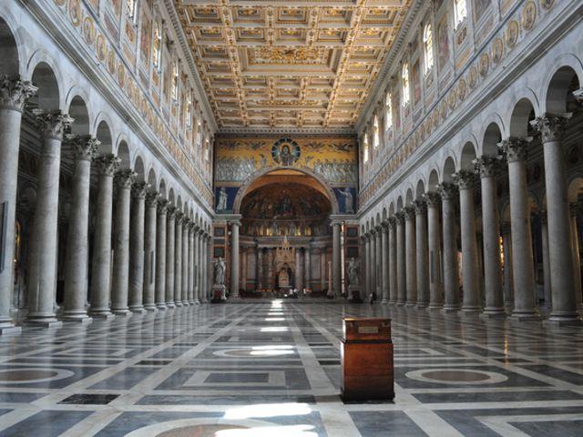 Roma - San Pablo Extramuros - Interior