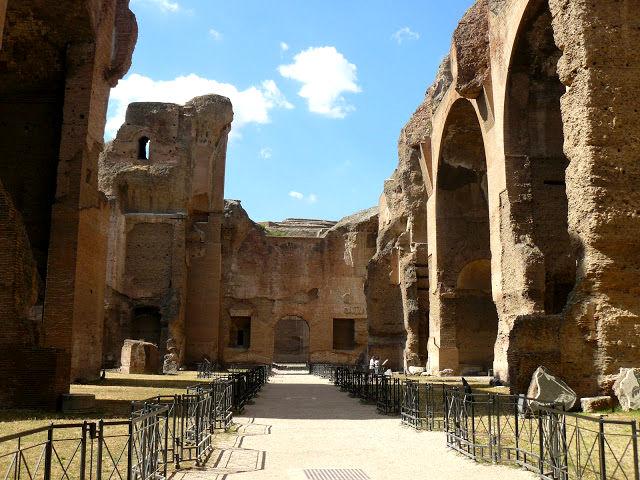 Roma - Termas de Caracalla - Interior
