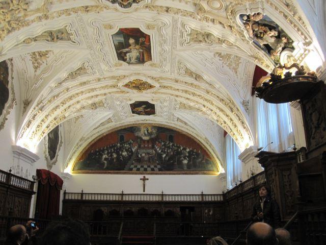 Salamanca - Clerecia - Aula Magna