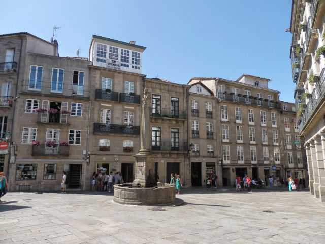 Santiago de Compostela - Plaza de Cervantes