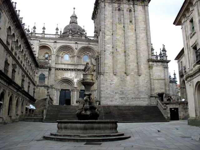 Que ver en Galicia - Santiago de Compostela - Plaza de Platerías