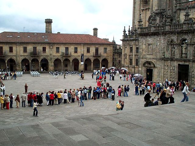 Santiago de Compostela - Plaza de Quintana