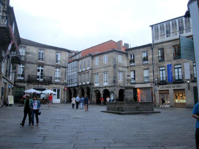 Santiago de Compostela - Plaza de Toural