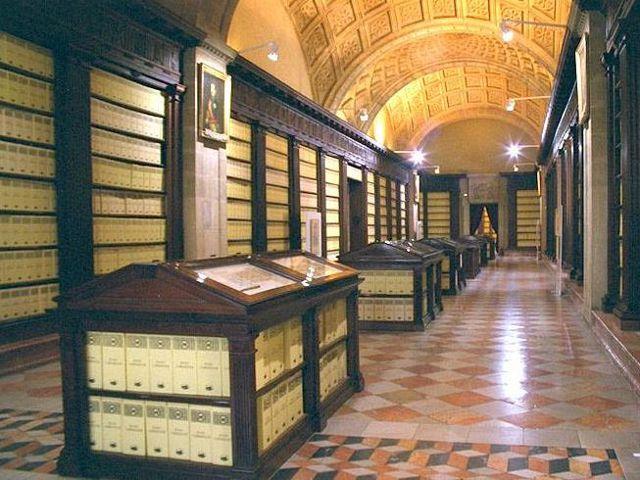 Sevilla - Archivo General de Indias - Interior