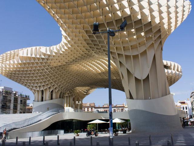 Conocer Sevilla - Metropol Parasol