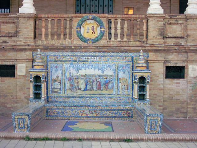 Sevilla - Plaza de España - Cáceres