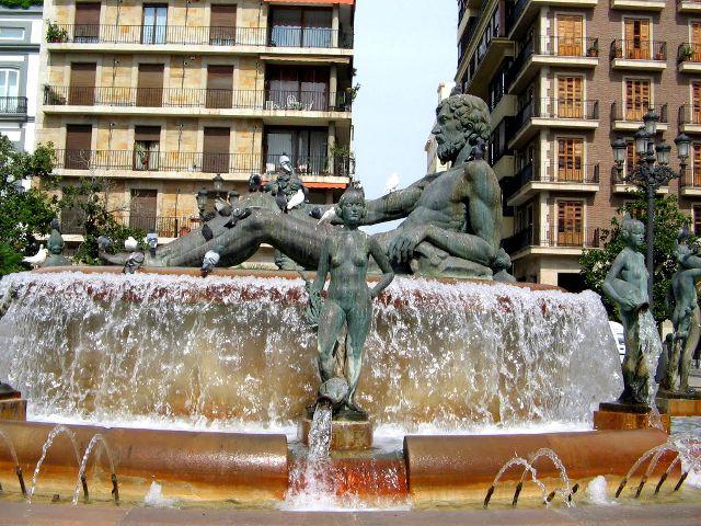Valencia - Fuente del Turia