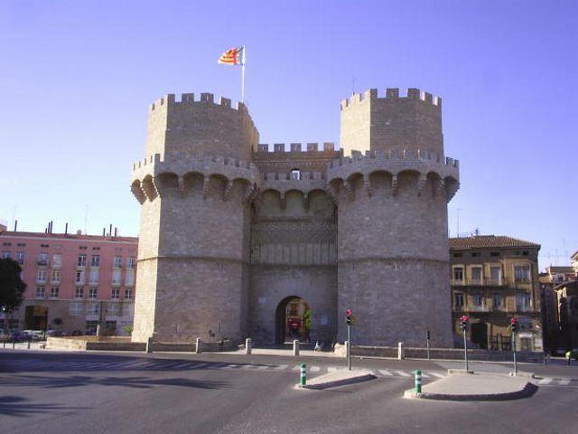 Valencia - Puerta de Serranos