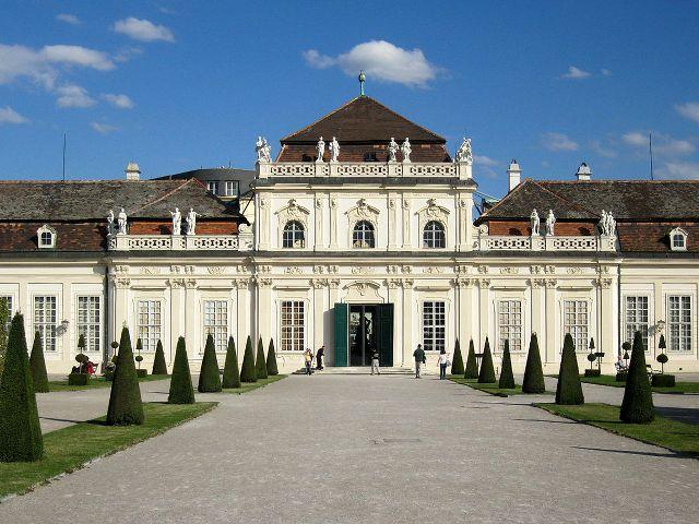 Viena - Palacio Belvedere - Palacio bajo