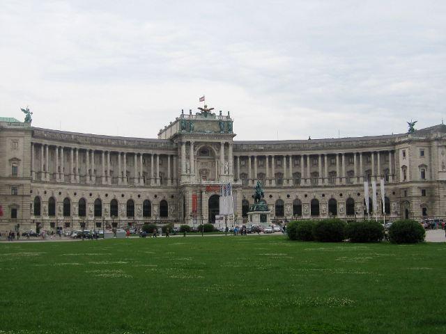 Viena - Palacio Hofburg