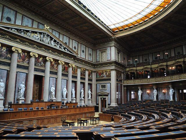 Viena - Parlamento - Interior
