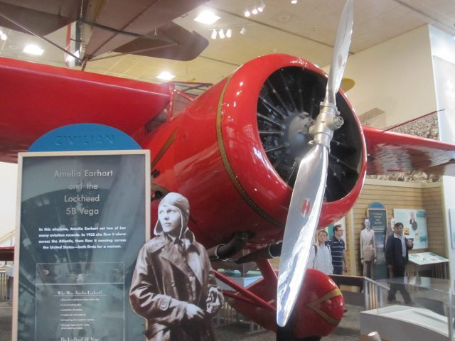 Amelia Earhart - Washington