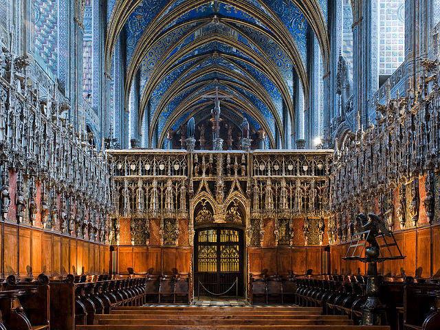 Albi - Catedral Santa Cecilia - Coro