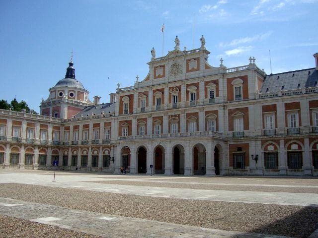 Palacio de Aranjuez - Palacio Real - Fachada