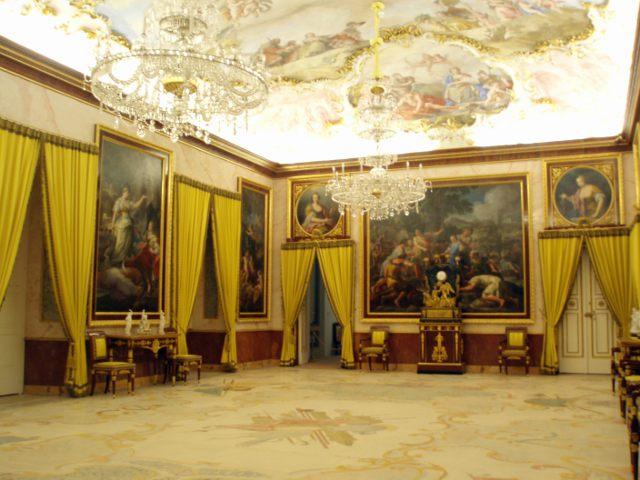 Aranjuez - Palacio Real - Interior