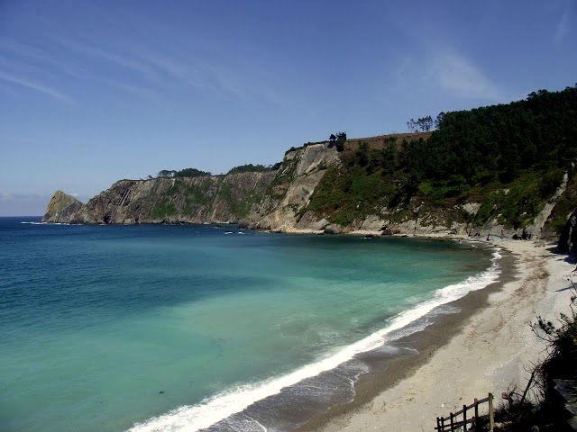 Visitar Cudillero - Playa Oleiros