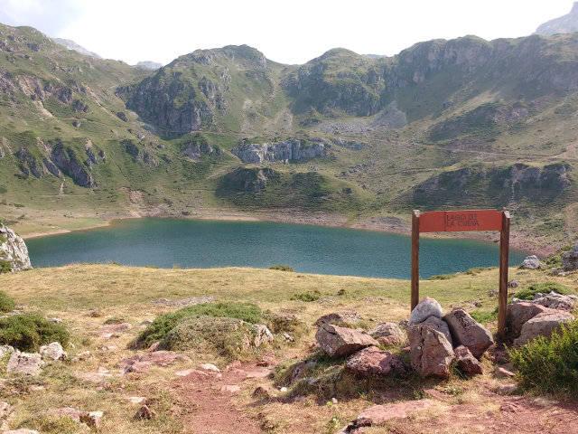 Asturias - Somiedo - Lago de la Cueva