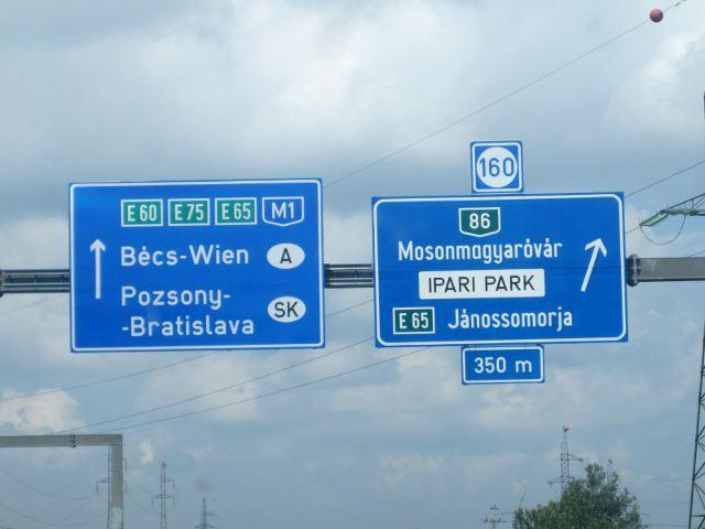 Autopista Budapest - Bratislava