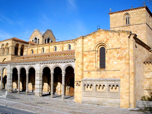 Avila - Basilica San Vicente