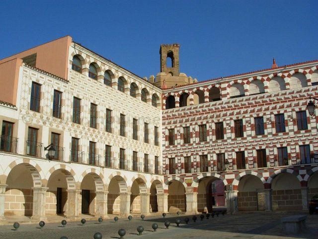 Visitar Badajoz - Plaza Alta