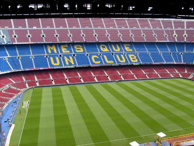 Visitando el Camp Nou