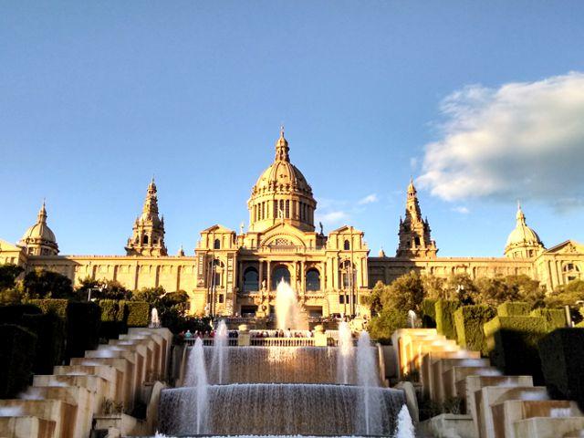 Que ver en Montjuic - Fuente Mágica y Museo Arte de Cataluña