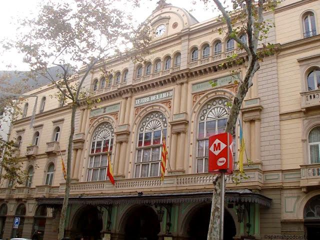 Barcelona – Liceo – Exterior