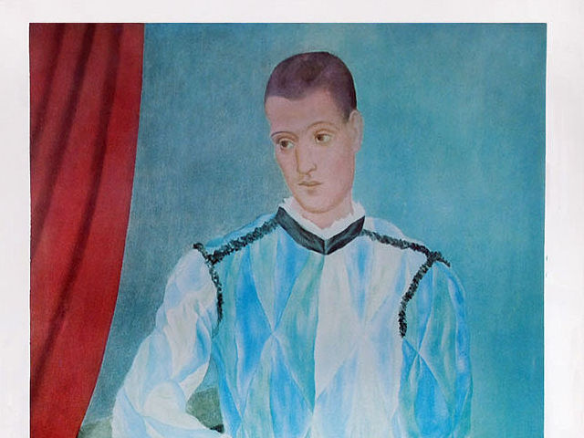 Barcelona - Museo Picasso - Arlequin
