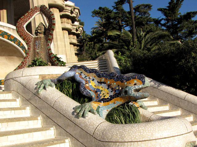 Barcelona - Parque Guell - Salamandra