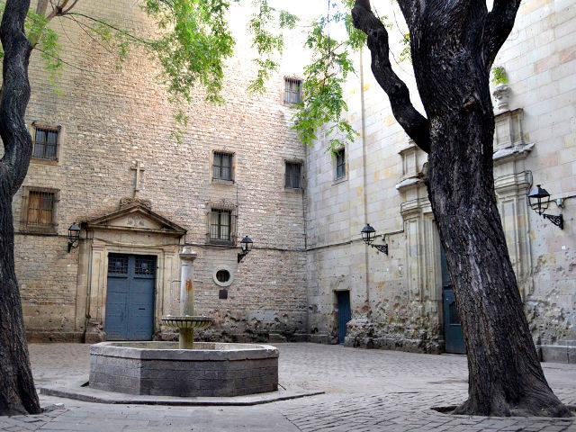 Plaza de San Felipe Neri de Barcelona