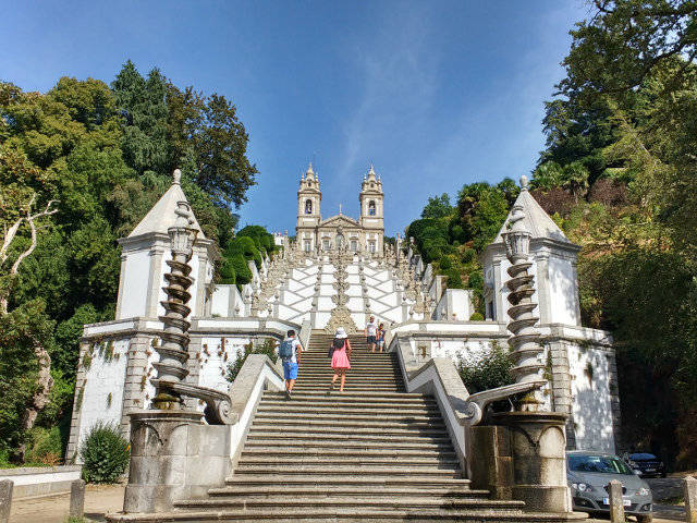 Visitar Braga en un día y Bom Jesus do Monte. La ciudad de los arzobispos