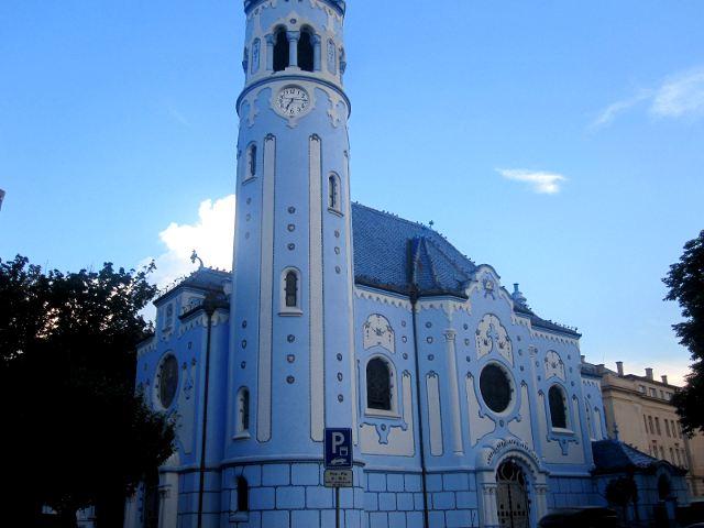 Ver Bratislava - Iglesia Azul