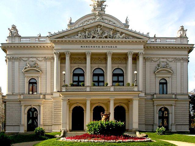 Brno - Teatro Mahen
