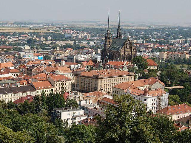 Brno - Vistas desde la Fortaleza