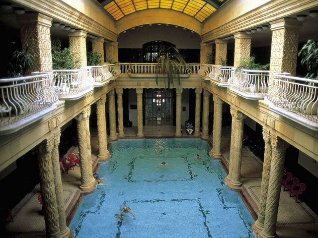 Budapest - Balneario Gellert