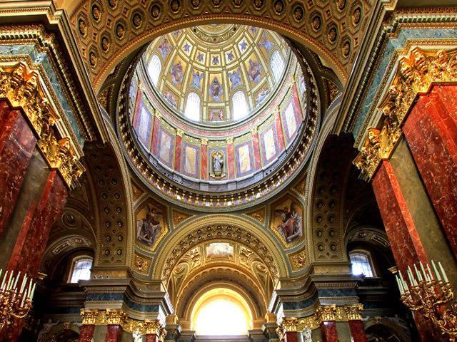 Budapest - Basilica San Esteban - Interior