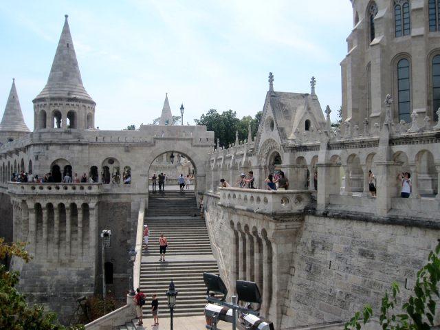 Budapest - Bastión de los Pescadores - Interior