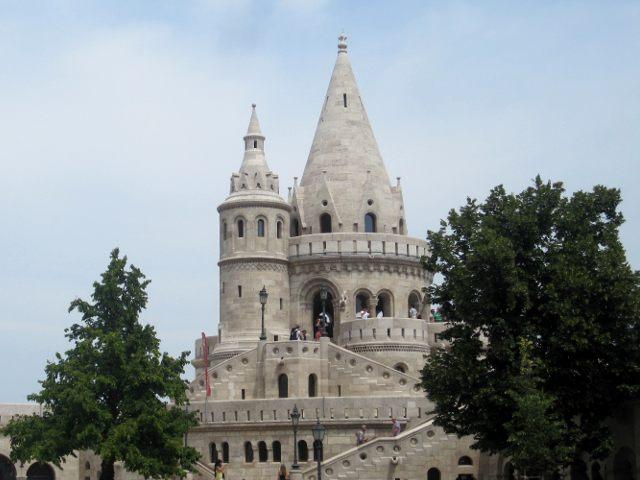 El Bastión de los Pescadores de Budapest. Las mejores vistas